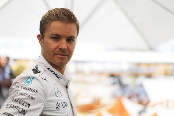 Nico Rosberg (GER) Mercedes AMG F1 at Formula One World Championship, Rd1, Australian Grand Prix, Preparations, Albert Park, Melbourne, Australia, Thursday 17 March 2016.