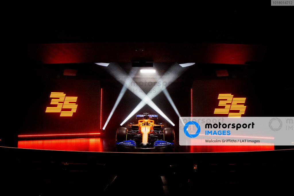 McLaren launch
