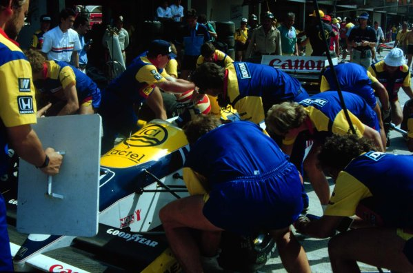 1986 Brazilian Grand Prix.