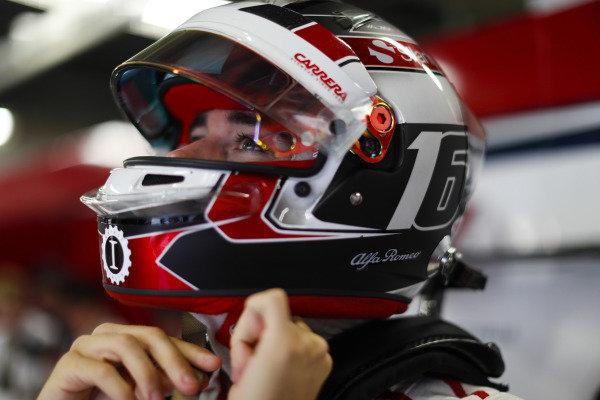 Charles Leclerc, Sauber.