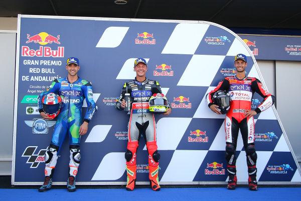 Michele Ferrari, Dominique Aegerter, Dynavolt Intact GP, Lukas Tulovic, Tech 3 E-Racing.