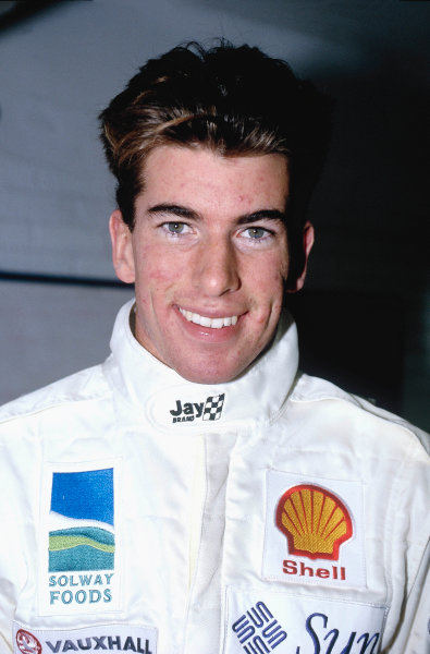1993 McLaren/Autosport Young Driver Test.Ralph Firman Jr. , portrait.World Copyright: LAT Photographic