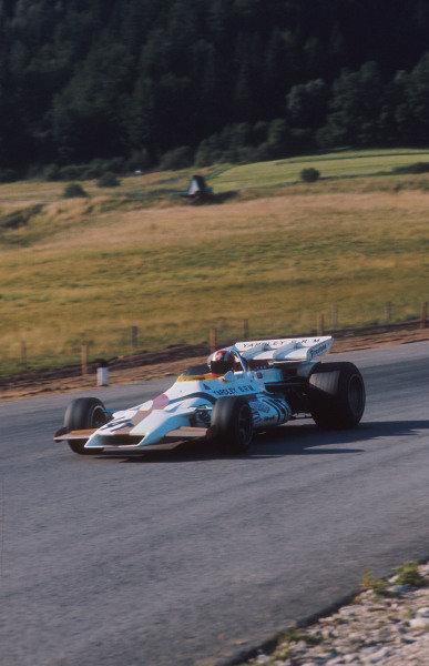 1971 Austrian Grand Prix.Osterreichring, Zeltweg, Austria.13-15 August 1971.Jo Siffert (BRM P160) 1st position.Ref-71 AUT 02.World Copyright - LAT Photographic