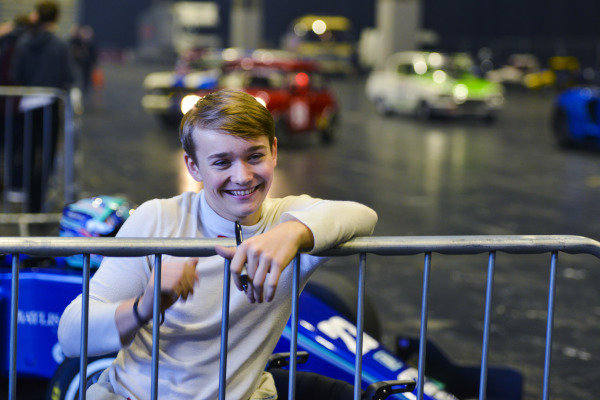 Billy Monger in the Live Action Arena.