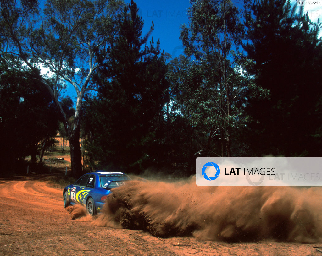 2000 Rally Australia.