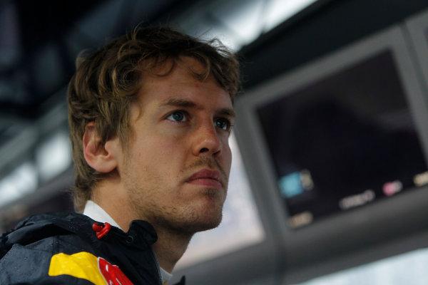 Suzuka Circuit, Suzuka, Japan. 9th October 2010. Sebastian Vettel, Red Bull Racing RB6 Renault. Portrait.  World Copyright: Andrew Ferraro/LAT Photographic ref: Digital Image _Q0C8968