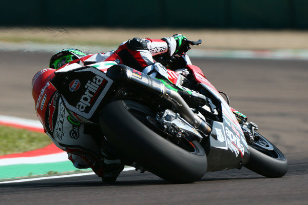 Eugene Laverty, Milwaukee Aprilia.