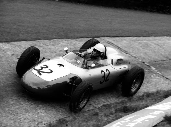 Heini Walter (SUI) finished fourteenth in the Formula 2 Ecurie Filipinetti Porsche 718. It was his first and only Grand Prix.