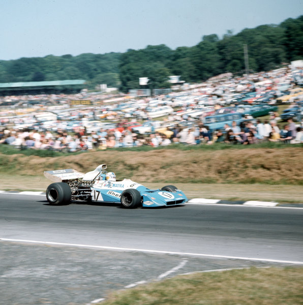 Brands Hatch, England. 13-15 July 1972.Chris Amon (Matra-Simca MS120C) 4th position. Ref-3/5100C.World Copyright - LAT Photographic