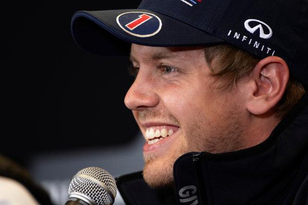 Spa-Francorchamps, Spa, Belgium 25th August 2011. Sebastian Vettel, Red Bull Racing RB7 Renault. Portrait. Media.  World Copyright: Steve Etherington/LAT Photographic ref: Digital Image SNE29555
