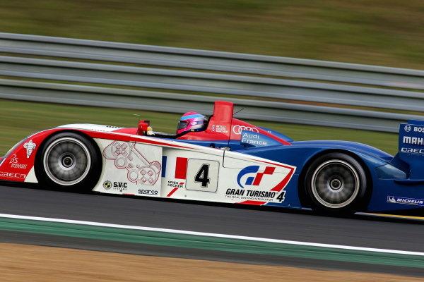Franck Montagny (FRA) / Jean Marc Gounon (FRA) / Stephane Ortelli (FRA), Audi Playstation Team Oreca  Audi R8, was fifth fastest after qualifying.Le Mans 24 Hours, Second Qualifying, Le Mans, France, 16 June 2005.DIGITAL IMAGE