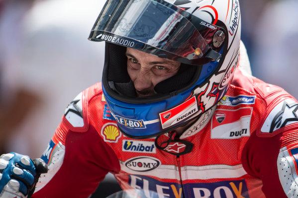 2017 MotoGP Championship - Round 6 Mugello, Italy Sunday 4 June 2017 Andrea Dovizioso, Ducati Team World Copyright: Gold & Goose Photography/LAT Images ref: Digital Image 675122