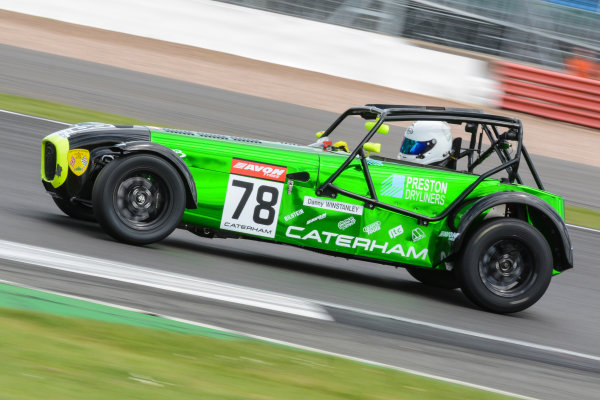2017 Avon Tyres Caterham Seven 420-R Championship, Silverstone, 11th-12th June 2017, Danny Winstanley Caterham 420R. World copyright. JEP/LAT Images