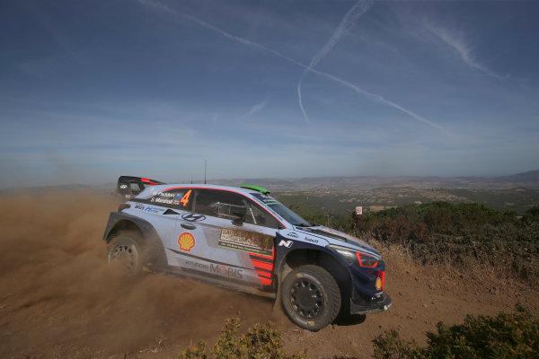 2017 FIA World Rally Championship, Round 07, Rally Italia Sardegna, June 8-11, 2017, Haydon Paddon, Hyundai, action Worldwide Copyright: McKlein/LAT