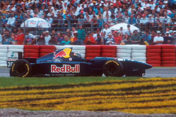 Montreal, Quebec, Canada.9-11 June 1995.Heinz-Harald Frentzen (Sauber C14 Ford). He exited the race with an engine problem.Ref-95 CAN 14.World Copyright - LAT Photographic