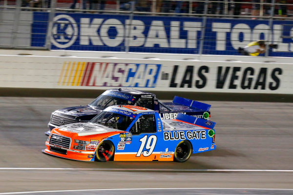 1 October, 2016, Las Vegas, Nevada USA Daniel Hemric and William Byron ?2016, Russell LaBounty LAT Photo USA