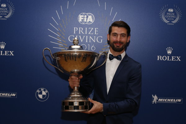 2016 FIA Prize Giving Vienna, Austria Friday 2nd December 2016 Jose Maria Lopez. Photo: Copyright Free FOR EDITORIAL USE ONLY. Mandatory Credit: FIA ref: 31381761215_555bbd5ac5_o