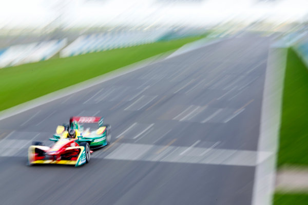 FIA Formula E Second Pre-Season Testing Event. Daniel Abt, ABT Schaeffler Audi Sport, Spark-Abt Sportsline. Donington Park Racecourse, Derby, United Kingdom. Wednesday 7 September 2016. Photo: Adam Warner / LAT ref: Digital Image _L5R3441