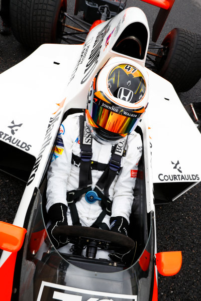 Suzuka Circuit, Japan. Saturday 08 October 2016. Stoffel Vandoorne, Test and Reserve Driver, McLaren, in the 1989 McLaren MP4/5 in which Alain Prost scored his third world drivers title. World Copyright: Steven Tee/LAT Photographic ref: Digital Image _O3I5751