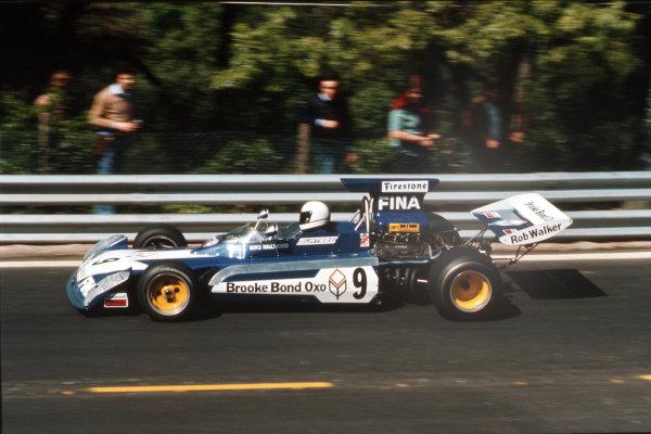 Montjuich Park, Barcelona, Spain.27-29 April 1973.Mike Hailwood (Surtees TS14A Ford).Ref-35mm 73 ESP 35.World Copyright - LAT Photographic