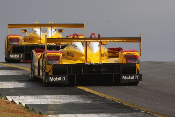 4-6 October 2007, Road Atlanta, Braselton, Georgia, USAPenske Porsche team©2007, Michael L. Levitt, USALAT Photographic
