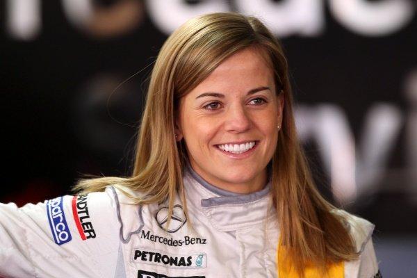Susie Wolff (GBR), TV Spielfilm AMG Mercedes - DTM 2011 - Deutsche Tourenwagen Masters 10th Round at Hockenheimring  - Ã' Copyright: Stange/RACE-PRESS.com