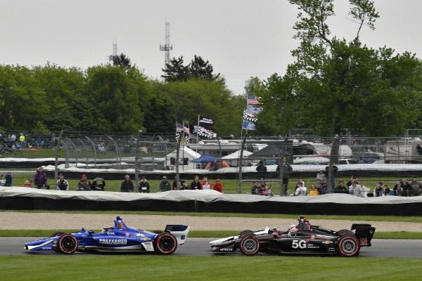 Ed Jones, Ed Carpenter Racing Chevrolet, Will Power, Team Penske Chevrolet