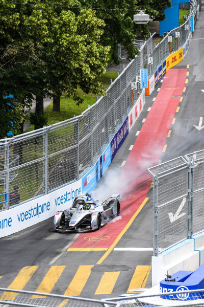Felipe Massa (BRA), Venturi Formula E, Venturi VFE05, locks up