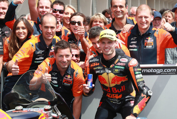 Second place Brad Binder, KTM Ajo.