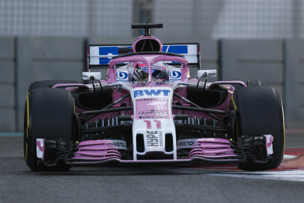 Sergio Perez, Force India VJM11 Mercedes.