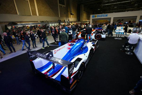 Autosport International Exhibition. National Exhibition Centre, Birmingham, UK. Sunday 14th January 2018. Le Mans cars on display.World Copyright: Mike Hoyer/JEP/LAT Images Ref: AQ2Y9840