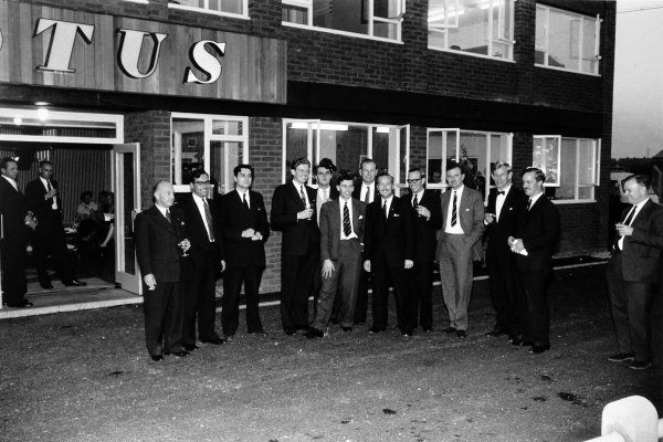 1959 Lotus media visit.