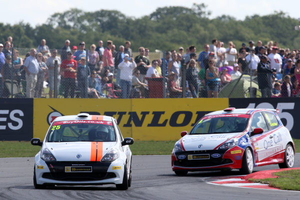 2013 Renault Clio Clup, Snetterton, Norfolk. 2nd - 4th August 2013. Graham Field (GBR) 20Ten Racing Renault Clio Cup. World Copyright: Ebrey / LAT Photographic.