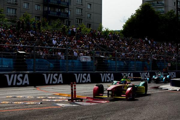 2015/2016 FIA Formula E Championship. Berlin ePrix, Berlin, Germany. Saturday 21 May 2016. Lucas Di Grassi (BRA), ABT Audi Sport FE01  Photo: Zak Mauger/LAT/Formula E ref: Digital Image _L0U2140