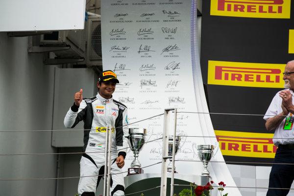 2016 GP3 Series Round 4 Hungaroring, Budapest, Hungary. Sunday 24 July 2016. Arjun Maini (IND, Jenzer Motorsport)  Photo: Sam Bloxham/GP3 Series Media Service. ref: Digital Image _SBB8270