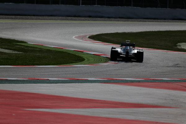 Circuit de Catalunya, Barcelona, Spain.  Wednesday 18 May 2016.  Pascal Wehrlein, Mercedes F1 W07 Hybrid.  World Copyright: Sam Bloxham/LAT Photographic ref: Digital Image _R6T1871