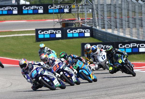 2017 Moto3 Championship - Round 3 Circuit of the Americas, Austin, Texas, USA Sunday 23 April 2017 Jorge Martin, Del Conca Gresini Racing Moto3 World Copyright: Gold and Goose Photography/LAT Images ref: Digital Image Moto3-R-500-2965