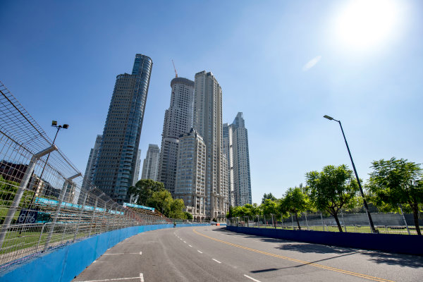 2016/2017 FIA Formula E Championship. Buenos Aires ePrix, Buenos Aires, Argentina. Friday 17 February 2017. A view of the track. Photo: Zak Mauger/LAT/Formula E ref: Digital Image _L0U8022