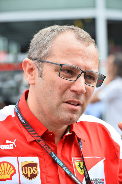 Stefano Domenicali (ITA) Ferrari General Director.Formula One World Championship, Rd12, Italian Grand Prix, Race, Monza, Italy, Sunday 8 September 2013.