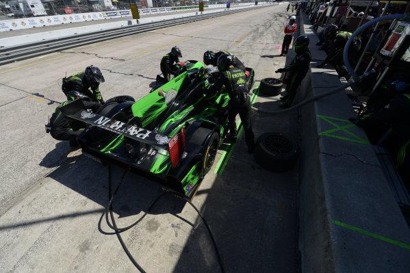 12-15 March, 2014, Sebring, Florida, USA #1, Honda, HPD ARX-03b, P, Scott Sharp, Ryan Dalziel, David Brabham @2014, Richard Dole LAT Photo USA