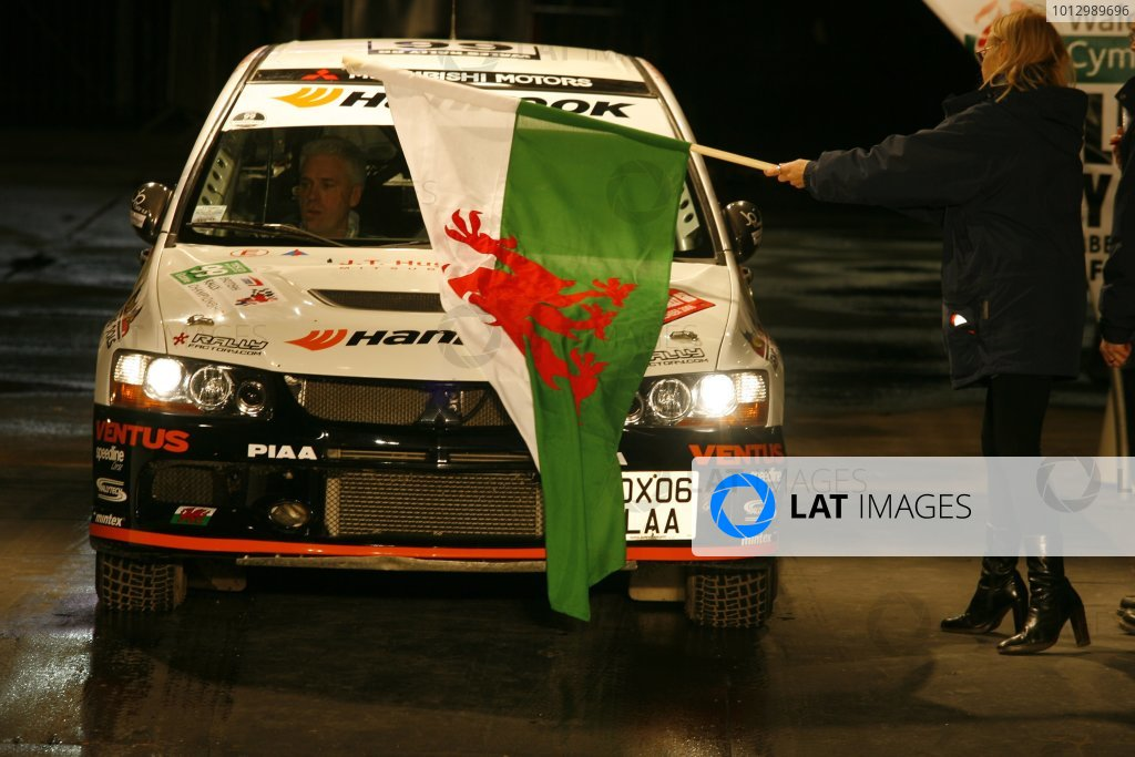 2006 British Rally Championship.Wales Rally GB. 1st-3rd December 2006.Gwyndaf Evans,World Copyright: Ebrey/LAT Photographic.