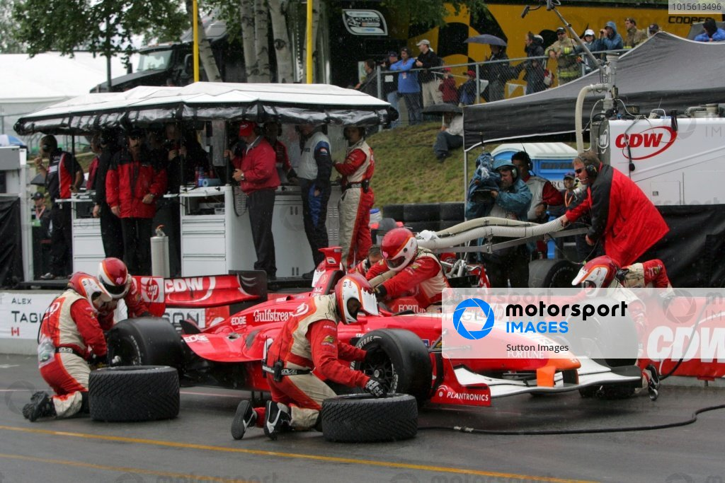 Justin Wilson (GBR), RSPORTS Panoz DP01.Champ Car World Series, Rd6, Mont Tremblant, Canada, 29 June - 1 July 2007.
