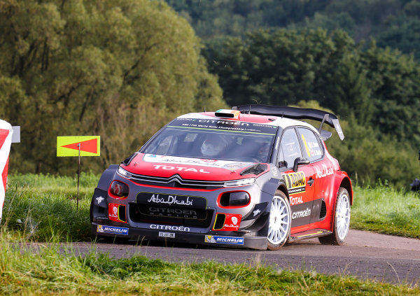2017 FIA World Rally Championship, Round 10, Rallye Deutschland, 17-20 August, 2017, Craig Breen, Citroen, action, Worldwide Copyright: McKlein/LAT