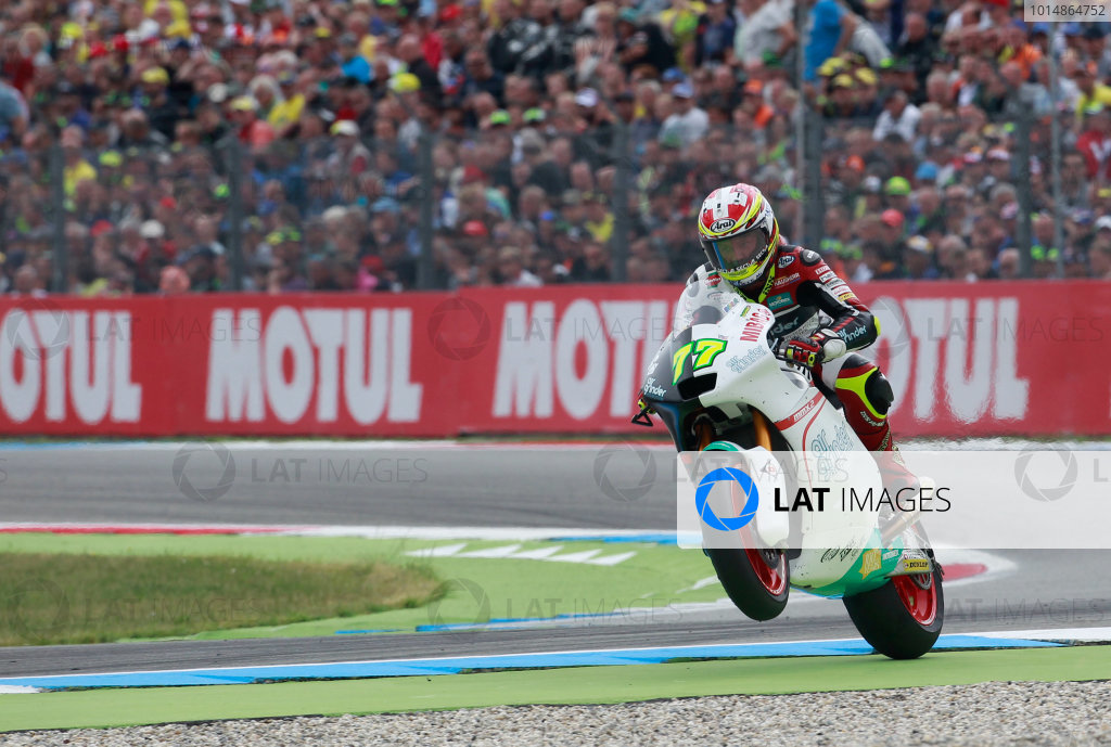 2017 Moto2 Championship - Round 8 Assen, Netherlands Sunday 25 June 2017 Dominique Aegerter, Kiefer Racing World Copyright: David Goldman/LAT Images ref: Digital Image 680247
