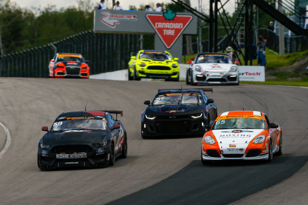 IMSA Continental Tire SportsCar Challenge Mobil 1 SportsCar Grand Prix Canadian Tire Motorsport Park Bowmanville, ON CAN Saturday 8 July 2017 59, Ford, Ford Mustang, GS, Scott Maxwell, Jack Roush Jr World Copyright: Jake Galstad/LAT Images