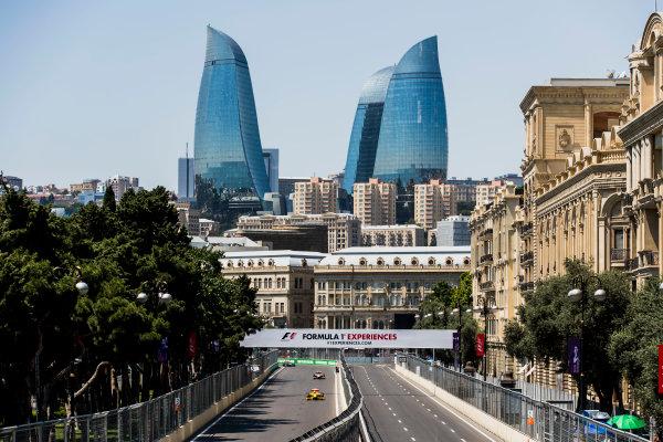 2017 FIA Formula 2 Round 4. Baku City Circuit, Baku, Azerbaijan. Friday 23 June 2017. Sean Gelael (INA, Pertamina Arden)  Photo: Zak Mauger/FIA Formula 2. ref: Digital Image _56I6674