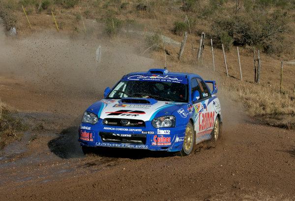 2004 FIA World Rally Championship, Round 8Rally Argentina. 15th-18th July 2004Gabriel Pozzo, Grp N Subaru, ActionWorld Copyright: McKlein/LAT Photographic