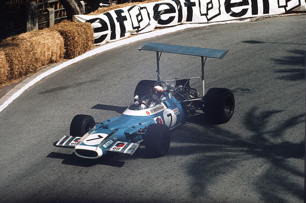 Monte Carlo, Monaco.15-18 May 1969.Jackie Stewart (Matra MS80 Ford) in practice.Ref-35mm 69 MON 24.World Copyright - LAT Photographic