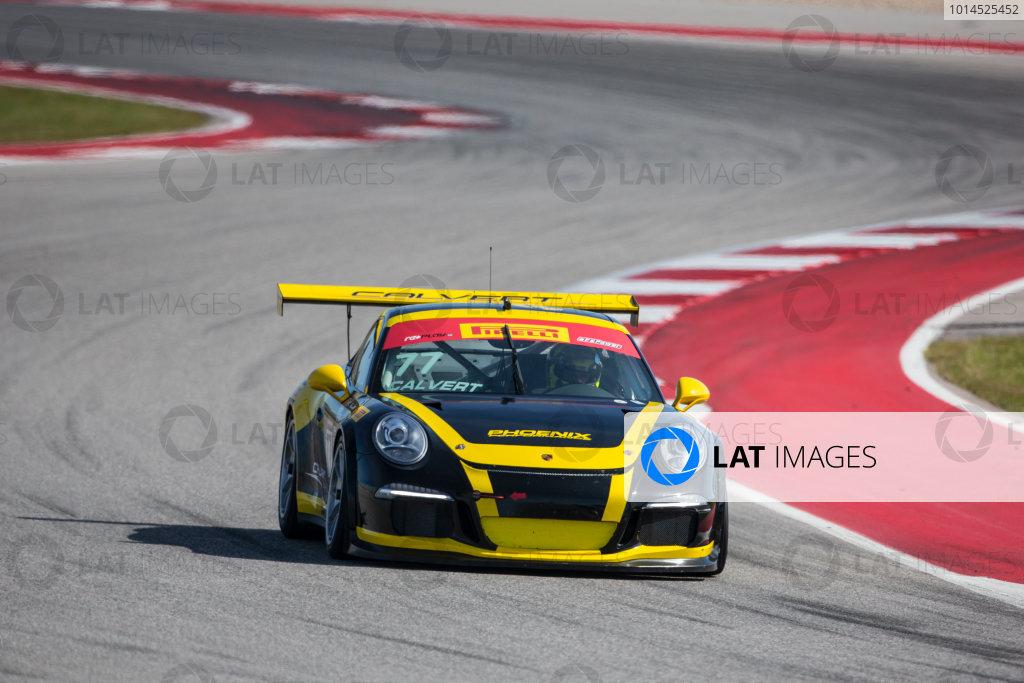 4-6 March, 2016, Austin, Texas USA #77 Porsche Preston Calvert ?2016, Brian Cleary LAT Photo USA