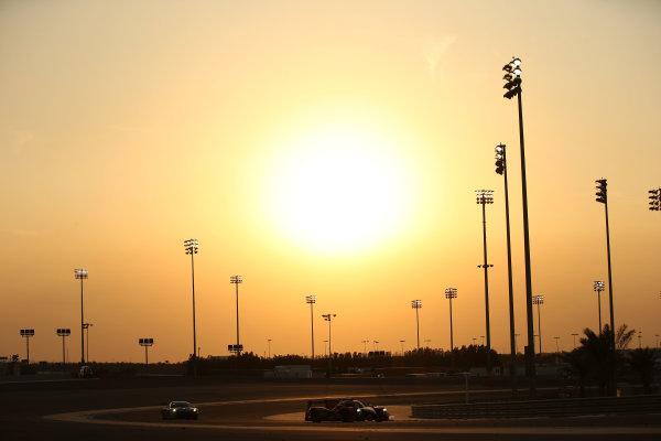 2015 FIA World Endurance Championship, Bahrain International Circuit, Bahrain. 19th - 21st November 2015. Gustavo Yacaman / Luis Felipe Derani / Ricardo Gonzalez G-Drive Racing Ligier JS P2 Nissan. World Copyright: Jakob Ebrey / LAT Photographic.